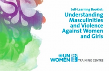 Self-Learning Booklet: Understanding Masculinities and Violence Against Women and Girls