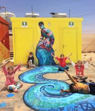 Art with Syrian Refugees: The Za'atari Project