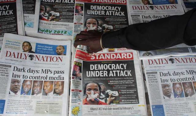 Kenyan Parliament Passes Retrogressive Media Bills