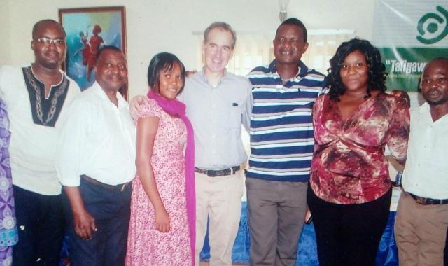 Resource persons/Facilitators and Creative team of TAFIGAWALO pidgin english ser