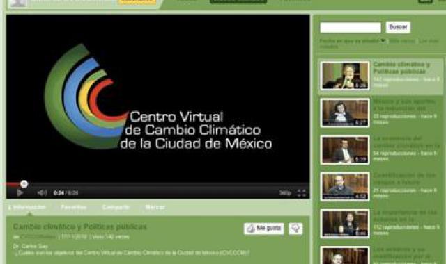 Mexico City's Virtual Climate Change Centre
