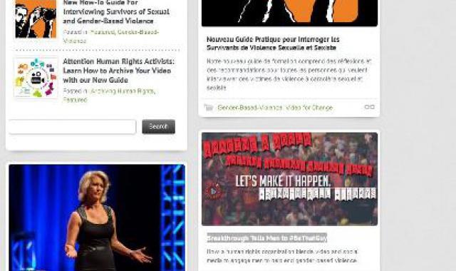 advocacy on gender-based violence (GBV)