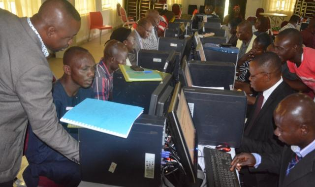 Some trainees at one of the training sessions in Makurdi, Benue State, Nigeria