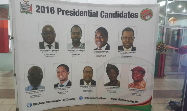 Zambia's Presidential Candidates 2016 General Elections