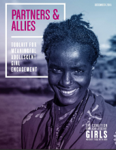 Partners & Allies: Toolkit for Meaningful Adolescent Girl Engagement