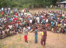 Monitoring and Evaluation of Participatory Theatre for Change