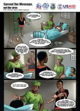 Spread the Message, Not the Virus - Graphic Story